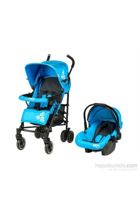Sunny Baby Jimmy Seyahat Sistem Bebek Arabası / Mavi