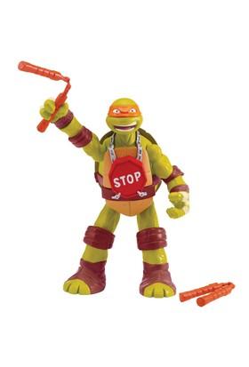Ninja Kaplumbağalar Michelangelo Sesli Dövüşen Figür Oyuncak