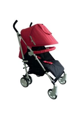 Dukaddo Mazza Baston Bebek Arabası Kırmızı