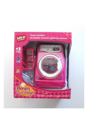 Birlik Oyuncak Kutulu Pilli Çamaşır Makinesi