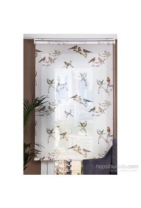 Comforsun Desenli Stor Perde Kuşların Muhabbeti 100x200