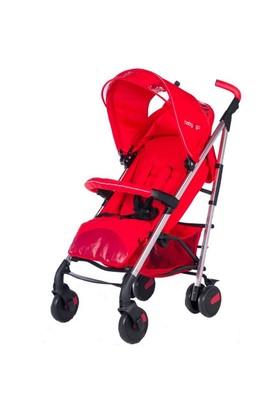 Baby2go Supreme Bebek Arabası Kırmızı