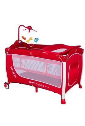 Baby2Go 6104 70x120 Oyun Parkı Kırmızı