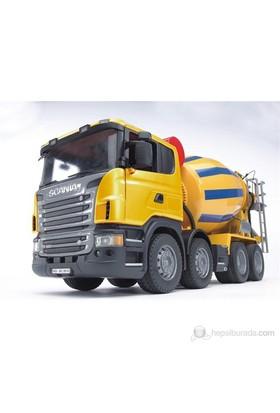 Bruder Scania R-Serisi Beton Mikser - 03554