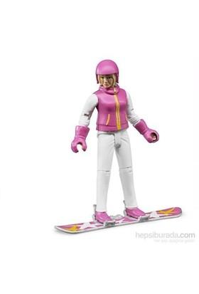 Bruder Snowboard'cu Bayan Ve Aksesuarları 60420