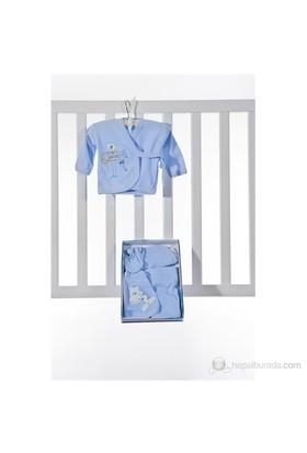 Burtaç Baby 5 Li Zıbın 1103-Mavi