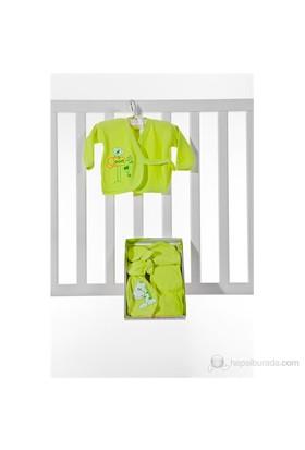Burtaç Baby 5 Li Zıbın 1103-Yeşil