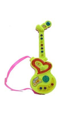 Birlik Oyuncak Türkçe Işıklı Ve Sesli Mini Pilli Oyuncak Gitar