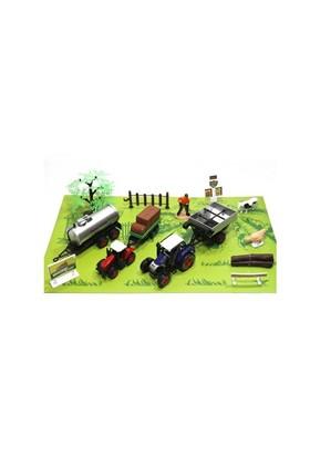 Vardem Ağaçlı Araçlı Aksesuarlı Çiftlik Seti 1