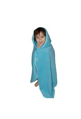 Babyneo Bambu Pelerin Havlu Mavi