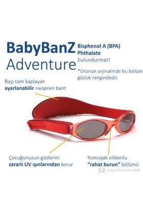 Banz Kırmızı Güneş Gözlüğü 0-2 yaş