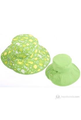 Baby Banz Yeşil Akvaryum Çift Taraflı Şapka Unisex