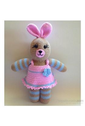 Damla Oyuncak Tavşan Amigurumi Örgü Oyuncak