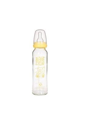 Bebedor Orta Akış Isıcam Biberon (250 ml) / Sarı