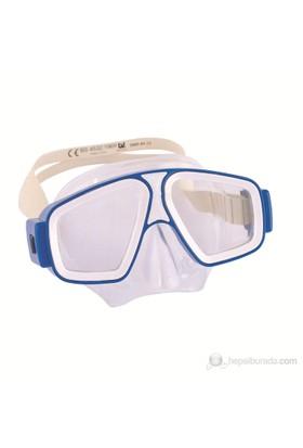 Bestway Tam Profesyonel Dalış Maskesi - 22025 (Mavi)