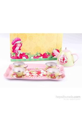 Çilek Kız Çilek Kız Metal Çay Seti