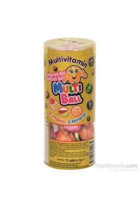 Multiball Lolipop Multivitamin 15'li