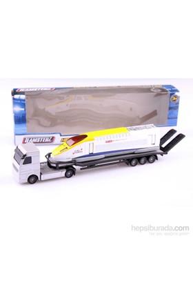 Nani Toys Lokomotif ve Taşıma Tırı 1/60 Diecast Araç Seti