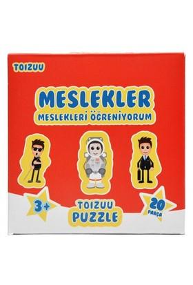 Toizuu Meslekleri Öğreniyorum Kutulu Puzzle