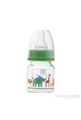 Bebedor Özel Amaçlı Mini Cam Biberon 60 ml Yeşil