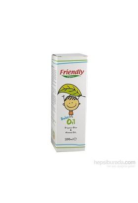 Friendly Organic Bebek Yağı Organik Zeytinyağı ve Badem Yağı / 100 ml
