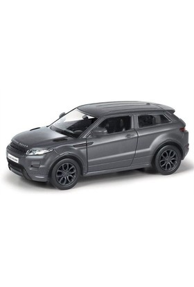 Rmz City Die Cast 1:36 Range Rover Evoque Matte Black Edition