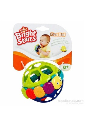 Bright Starts Flexi-Ball Çıngıraklı Yumuşak Top