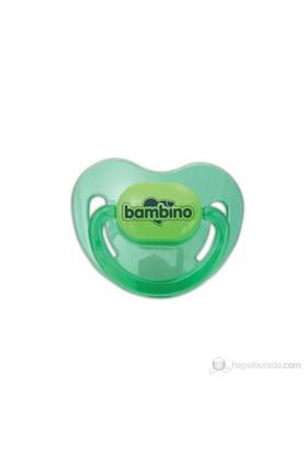 Bambino Silikon Damaklı Emzik No:1 / Yeşil / 0-6 Ay