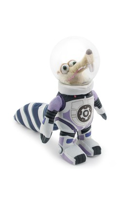 Buz Devri 5 Astronot Scrat Kasklı Peluş Figür 22 Cm