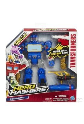 Hasbro Transformers Hero Mashers Özel Figür - Soundwave
