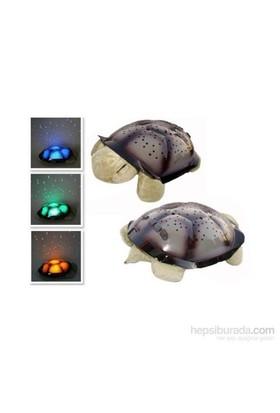 Hepsi Dahice Renk Değiştiren Müzikli Kaplumbağa Projeksiyon Gece Lambası Yeşil