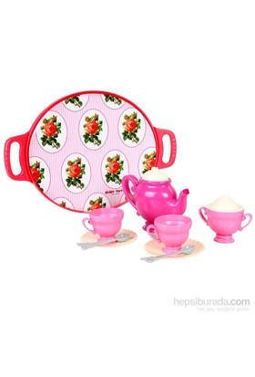 Zuzu Toys Tepsili Çay Seti