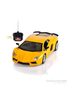 Can-Em Speed Car Uzaktan Kumandalı Şarjlı Spor Sarı Araba