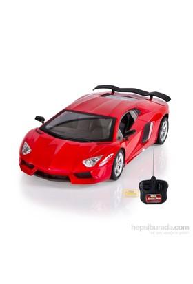 Can-Em Speed Car Uzaktan Kumandalı Şarjlı Spor Kırmızı Araba