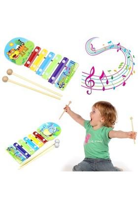 Hepsi Dahice Minik Müzisyenler İçin Renkli Basit Piyano(Ksilofon)