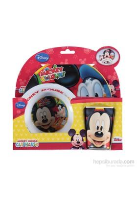 Disney Mickey Mouse Melamin 3'lü Beslenme - Mama Seti