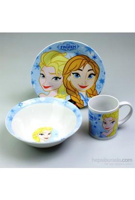 Disney Frozen 3'Lü Beslenme Seti