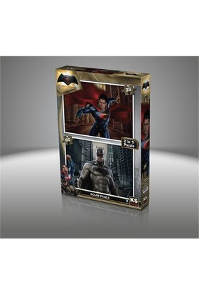 Ks Games Batman V Süperman - 35 + 60 Parça Çocuk Puzzl