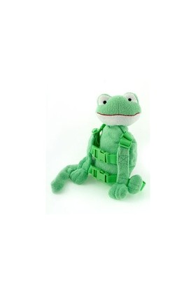 Goldbug Buddy Çocuk Güvenlik Kayışı & Sırt Çantası / Kurbağa