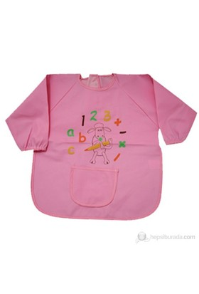 BabyJem Faaliyet Önlüğü Kollu / Pembe