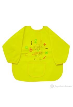 BabyJem Faaliyet Önlüğü Kollu / Sarı
