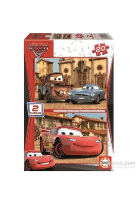 Educa Cars 2 - 2X20 Parça Puzzle