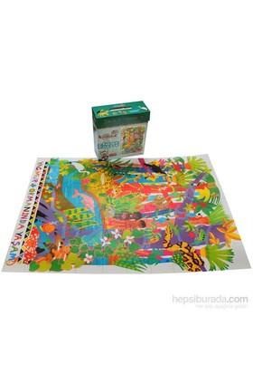 Kırkpabuc Yağmur Ormanı (60 Parçalık Floor Karton Puzzle )