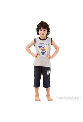 Roly Poly 3037 Fenerbahçe Lisanslı Erkek Çocuk Pijama Takımı Gri 6 Yaş (116 Cm)