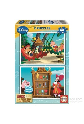 Jake And The Neverland Pırates - 2X48 Parça Puzzle