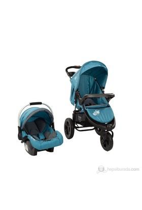 Sunny Baby SB-338 Partner Seyahat Sistem Bebek Arabası / Yeni Mavi