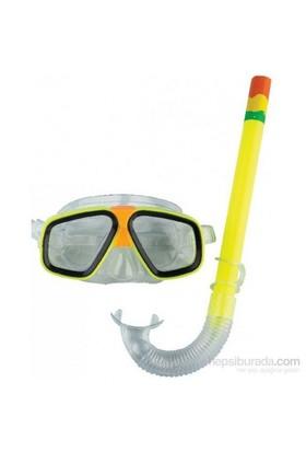 Hepsi Dahice Spor Şnorkel Seti Sarı
