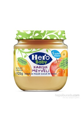 Hero Baby Karışık Meyveli Kavanoz Maması 125 gr