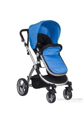 Massimo Ricco P108 Valente Travel Sistem Bebek Arabası Mavi