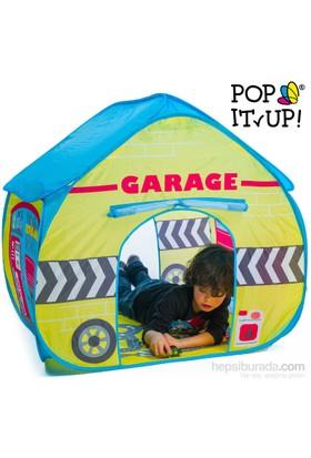 Pop It Up Garaj Oyun Çadırı - Kolay Kurulum
